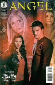 Angel #15 Photo Cover (1999) Buffy Crossover Dark Horse comic book